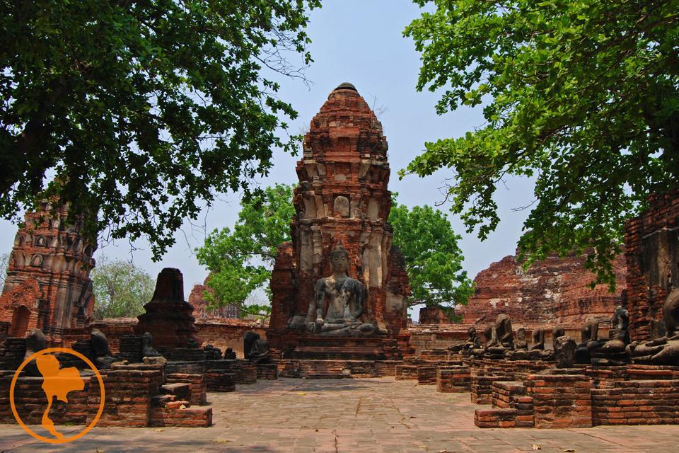 Wat Maha That - Parque Histórico de Ayutthaya - Descubre Tailandia