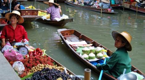 Mercados en Bangkok