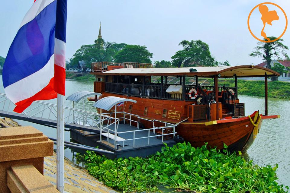 Crucero Thanatharee - Ayutthaya - Descubre Tailandia
